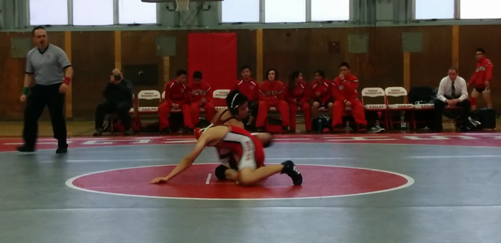 Nicholas Woo hits a switch for a reversal en route to a pin
